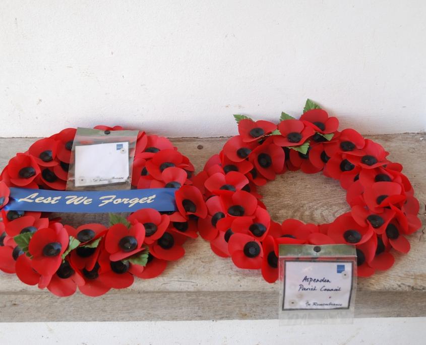 Poppy wreaths
