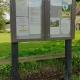 New noticeboard on Village Green